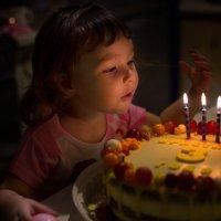 Волшебство в день рождения :: Юлия Куракина