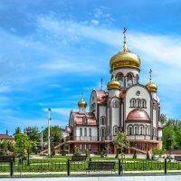 Шолоховский. Церковь Виктора Никомидийского. :: Владимир Дороненко