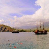 В бухте Средиземного моря . :: Мила Бовкун