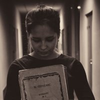 тяжёлая жизнь пианиста :: Александра Тетерина
