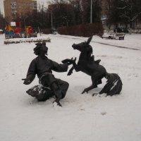 Сквер В Раменском :: Svetlana Lyaxovich