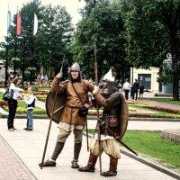 Кремлевские ратники... :: Андрей Головкин