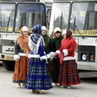 В ожидании маршрутки... :: Андрей Головкин