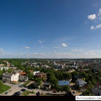 Город с высоты птичьего полета :: Игорь Ринкевич