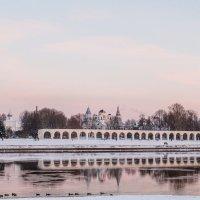 Вечер в Великом Новгороде :: Тимофей Черепанов