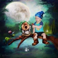 Ночь в сказочном лесу :: Svetlana Gordeeva