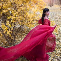 Всех в этом вальсе осень кружит :: Райская птица Бородина
