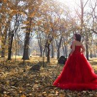 И на себя примеряла образ Королевы Осени... )) приятно! :: Райская птица Бородина