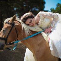 фотосет на природе. модель в образе невесты :: Elmar Gadzhiev