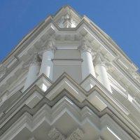 Церковь Святой Великомученицы Екатерины. Фрагмент колокольни :: Елена Павлова (Смолова)