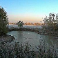 Замерший луговой  пруд . :: Виталий Селиванов