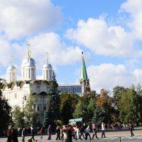 Собор на территории Кремля :: раиса Орловская