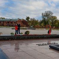 У вечного огня Брестской крепости :: Сергей и Ирина Хомич