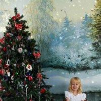 Новогодняя открытка :: Мария Кудрина