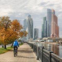 С видом на Москва-Сити :: Анна Корсакова