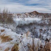 Трава, снег и холод. :: Sven Rok