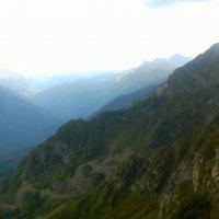 Кавказский хребет :: Елизавета Темкова