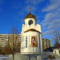 Храм-часовня Александра Невского. :: Борис Митрохин