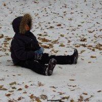 Дети всегда готовы к приходу зимы :: Андрей Лукьянов