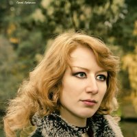 Осенний портрет. :: Сергей Гутерман