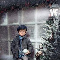 Рождественская открытка :: Ирина Митрофанова студия Мона Лиза