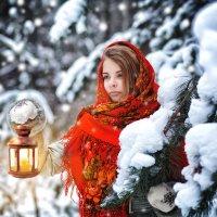 Русская красавица.... :: Анастасия Дробышевская