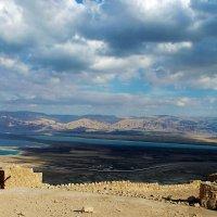 Вид из крепости Масада :: Aleks Ben Israel