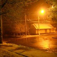 Снег падал ночью :: Галина