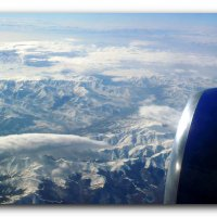 Под крылом самолета. :: Чария Зоя