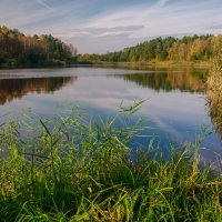 Осень на Окружном озере :: Александр Березуцкий (nevant60)