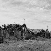 Сибирская глубинка. Домики в деревне :: Дмитрий Конев
