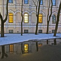 окна Новодевичьего монастыря :: Елена
