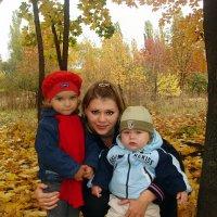 Осенняя прогулка в парке ..... :: Aleks Ben Israel
