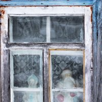 Деревенское окно. :: Андрей Скорняков