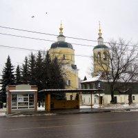 ноябрь в городке... :: Галина Филоросс