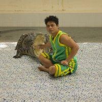 Заклинатель крокодилов :: Ангелина