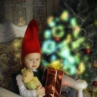 Новогодний гномик :: Ксения