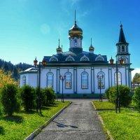 Православный храм в сибирской глубинке :: Милешкин Владимир Алексеевич