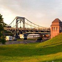 Вечер у моста Кайзера Вильгельма :: Ольга