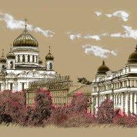 Москва. Храм Христа Спасителя. :: Виталий Лабзов