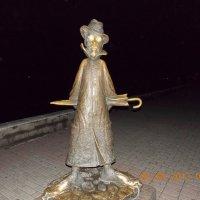 А.П. Чехов в Томске на набережной Томи :: Леонид Чащин