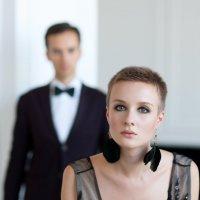 Девушка в черном платье :: Ira Fet