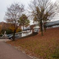 В южном парке города Дюссельдорф, ноябрь, ресторан :: Witalij Loewin