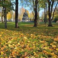 Осень в Новгородском Кремле (этюд 24) :: Константин Жирнов