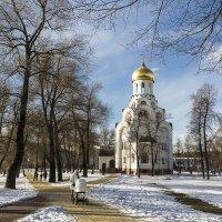 Храм святого мученика Виктора-воина. Белая дача :: Владимир Иванов