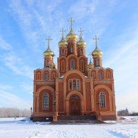 Собор Успения Пресвятой Богородицы на территории Ачаирского монастыря :: Гулько Т