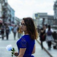 Синие розы :: Сергей Кривошеев