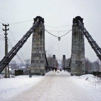 г.Остров, вантовый мост :: Ольга Маркова