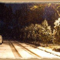 А снег идёт,  а  снег идёт.... :: Людмила Богданова (Скачко)