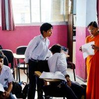 В индийской школе :: Станислав Маун
